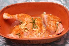 Fresh chicken Royalty Free Stock Photo