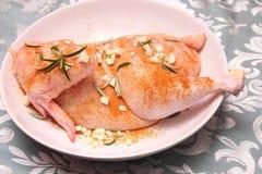 Fresh chicken Stock Photo