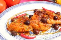 Fresh chicken Royalty Free Stock Image