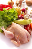 Fresh chicken Stock Image