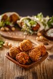 Fresh chickpeas falafel Stock Photo