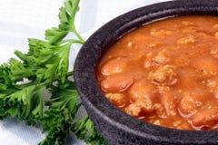 Fresh chili beans Stock Image