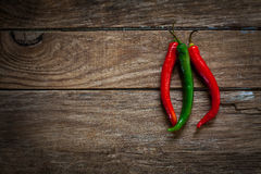 Fresh chili pepper Stock Photography