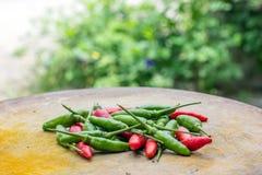 Fresh chilli Stock Photo