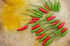 Fresh chilli Stock Image