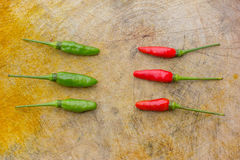 Fresh chilli Stock Images