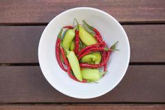 Fresh chilli's Royalty Free Stock Photo