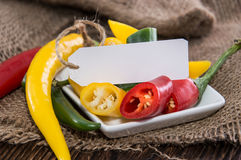 Fresh Chillis Royalty Free Stock Photo