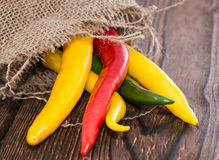 Fresh Chillis Royalty Free Stock Image
