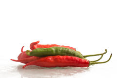 Fresh Chilly Pepper. Dedo de Moca Royalty Free Stock Photo