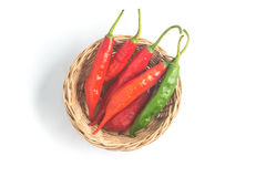 Fresh Chilly Pepper. Dedo de Moca Royalty Free Stock Image
