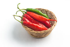 Fresh Chilly Pepper. Dedo de Moca Royalty Free Stock Photography