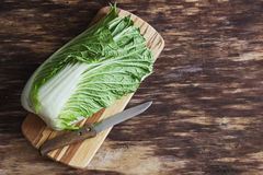 Fresh chinese cabbage Royalty Free Stock Images