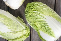 Fresh chinese cabbage Stock Photography