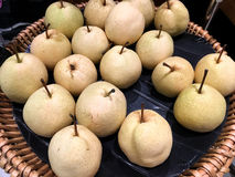 Fresh Chinese pear Royalty Free Stock Photos