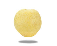 Fresh chinese pear isolated on white,clipping path Stock Photo