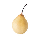 Fresh Chinese pear on a white background Stock Images