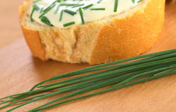 Fresh Chives Stock Photography