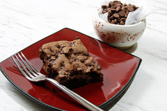 Fresh Chocolate brownies Royalty Free Stock Images