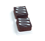Fresh chocolate brownies Royalty Free Stock Photography