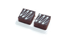 Fresh chocolate brownies Stock Photography