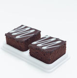 Fresh chocolate brownies Stock Images