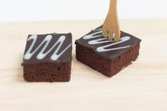 Fresh chocolate brownies Royalty Free Stock Photos