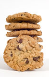 Fresh Chocolate Chip Cookies Royalty Free Stock Photos