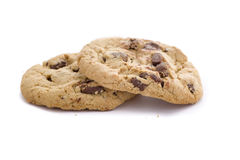 Fresh Chocolate Chip Cookies Royalty Free Stock Photo