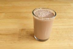 Fresh Chocolate Milk Stock Photography