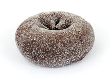 Fresh chocolate sugar sprinkled donut Stock Photography