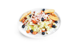 Fresh chopped ham salad Royalty Free Stock Image