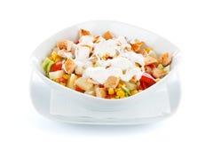 Fresh chopped vegetables salad Stock Images