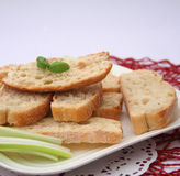 Fresh ciabatta bread Stock Image