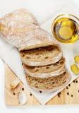Fresh ciabatta bread Stock Photography