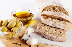 Fresh ciabatta bread Royalty Free Stock Photography