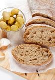 Fresh ciabatta bread Royalty Free Stock Photography