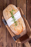 Fresh Ciabatta (Italian bread) Royalty Free Stock Images