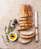 Fresh ciabatta Stock Images