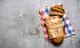 Free Fresh Ciabatta Wrapped In Paper On The Fabric. Royalty Free Stock Photo - 64523805