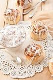 Fresh cinnamon rolls Royalty Free Stock Images
