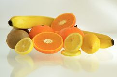Fresh citrus fruit. Some fresh fruit and citrus Royalty Free Stock Photos