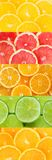 Fresh citrus fruit collection Stock Photos