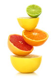 Fresh citrus fruit Stock Photography