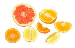 Fresh citrus Stock Images