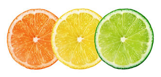 Fresh citrus fruits Royalty Free Stock Photography