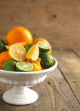 Fresh citrus fruits Royalty Free Stock Photo
