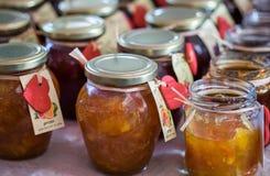jars of jelly or jam on a superstore shelf editorial. Black Bedroom Furniture Sets. Home Design Ideas