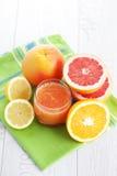 Fresh citrus juice Stock Photography