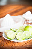 Fresh citrus lime Stock Images